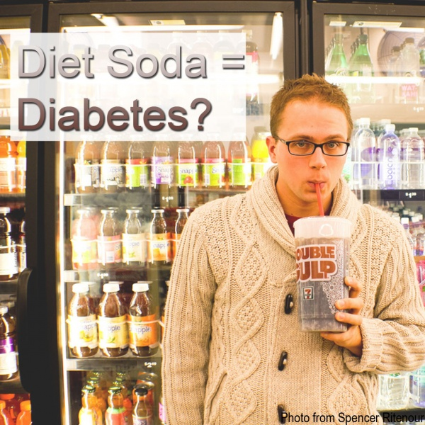 Diet Drinks Cause Diabetes