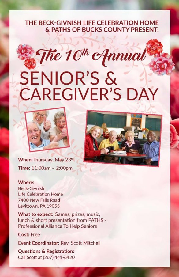 Senior and Caregivers Day @ Beck-Givnish Life Celebration Home